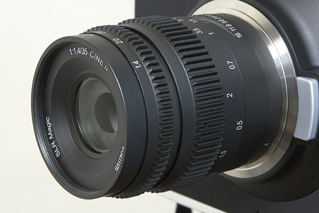 SLR Magic 35mm T1.4 Cine Mark II Lens