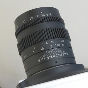 SLR Magic 35mm T1.4 Cine Mark II Lens