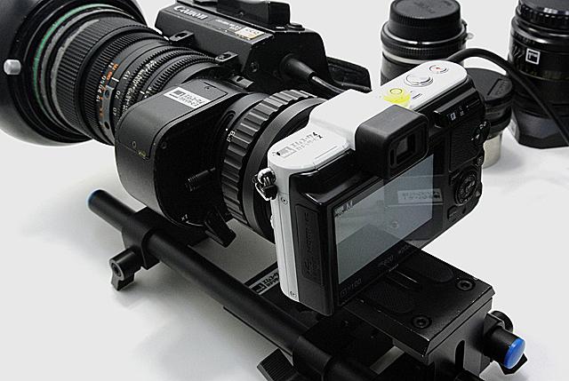 写真7 筆者は撮影はアマチュアだが、古いSDレンズとニコン1の組み合わせで楽しんでいる