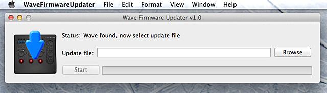 WaveFirmwareUpdater