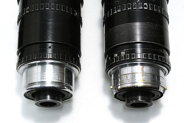 写真12 アリスタンダード(左)とアリバヨネット(右)