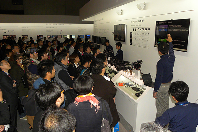 Inter BEE 2014_SONY