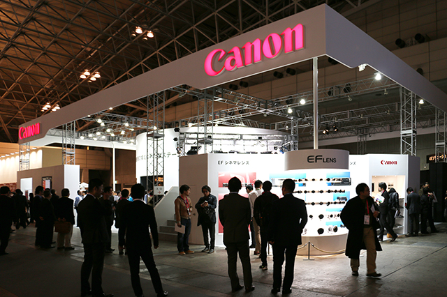 Inter BEE 2014_CANON