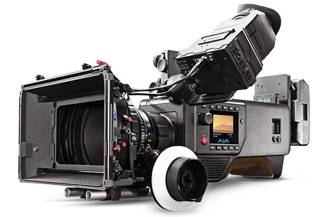 写真1 AJAのデジタルシネマカメラCION。AJA RAWにも早速ネイティブ対応した