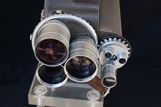 写真24 フィルモ70DRにアンジェニューCマウント 10、25、75mm