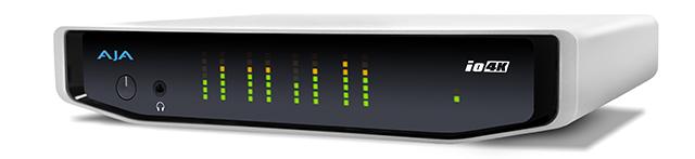 lo 4K。KONA4と同じくAJAが発売するlo 4Kは、I/FがThunderbolt2のブレークアウトボックス(BOB)。こちらも4K映像は60pまでをサポートする。4Kインターフェースは、Quad 3G SDI(UHD4:4:4/60p)、HDMI2.0b (UHD4:2:0/60p)を備える