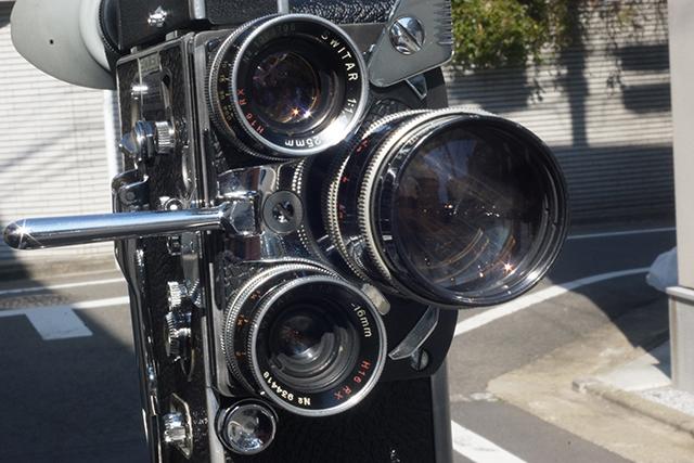 写真7 ボレックスにスイター3本を装着