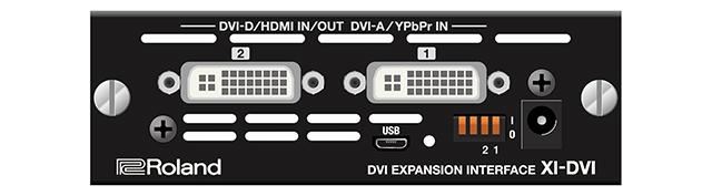 XIシリーズDVI拡張インターフェース「XI-DVI」