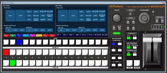 無償ダウンロードの専用PCアプリV-1200HD RCS
