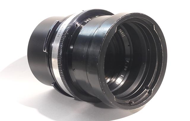写真2 アナモ取り付け部品付きのアンジェニュー50mm F0.95