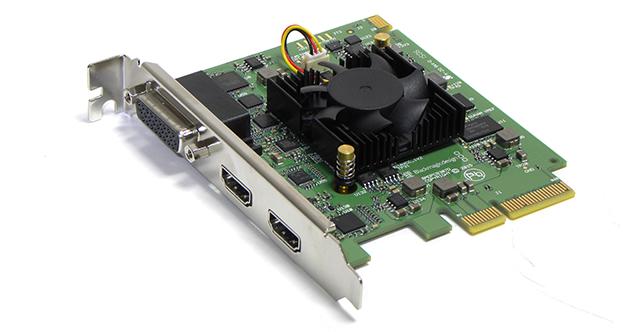 写真1 Intensity Pro 4KはSD/HD/Ultra HDの映像フォーマットに対応するPCIeカード