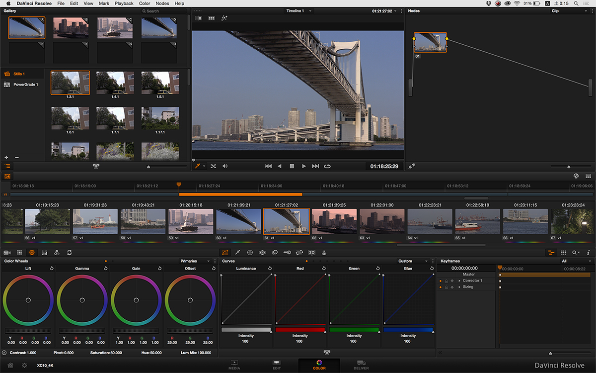 写真37 Blackmagic Designの「DaVinci Resolve Ver.11.3」でも読むことができた