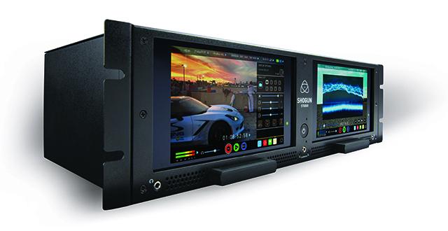AtomosOSにより、直感的なGUIのタッチスクリーン操作を初めとして、Sony FS RAWやCanon RAW入力からのProRes/DNx記録、3D LUT(.cube)の液晶モニター表示上やビデオ出力/収録ファイルへの適用、プリレック収録、タイムラプス収録など、SHOGUNですでに実現している機能については、すべて網羅している