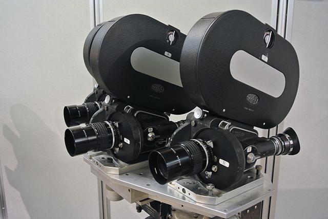 ARRIFLEX 35 Ⅱ C-BVを3台使用