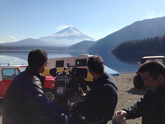 写真2 撮影部は、さまざまな現場で最適な撮影方法を確立していくことができる編成をとっている