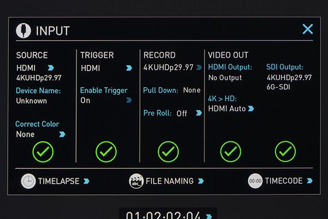 写真15 HDMIで接続するとき、SHOGUN側でも「SOURCE」と「TRIGGER」の両方を「HDMI」に設定する