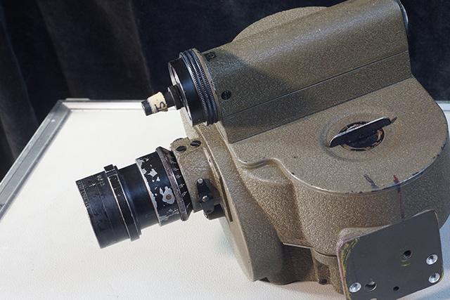 写真2 シングルマウントアイモに装着されたバルター75mm