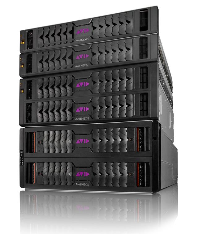 エンタープライズクラス3機種は、混在して使用することができ、柔軟なシステム構築と拡張が可能
