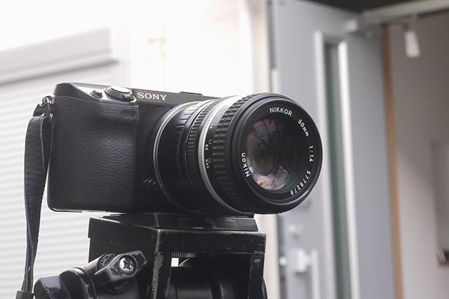 ニッコール50mm F1.4[No.5778278]、絞り羽根7枚、ニコンマウント(フルサイズ用)