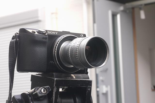 アンジェニュー50mm F1.5[No.1067422]、絞り羽根12枚、Cマウント(16mm用)