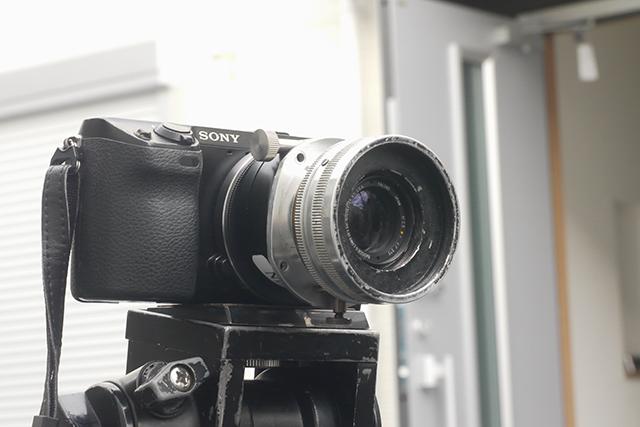 ボシュロム バルター50mm F2.3[No.KF375]、絞り羽根12枚、ミッチェルマウント(35mmスタンダード用)