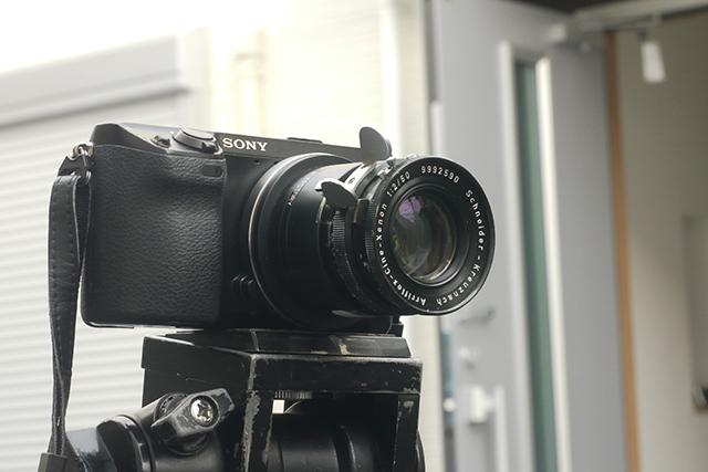 シュナイダー シネクセノン50mm F2[No.9992590]、絞り羽根4枚、アリマウント(35mmスタンダード用)