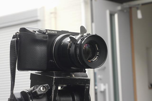 ツァイス プラナー50mm F2[No.6169186]、絞り羽根9枚、アリマウント(35mmスタンダード用)