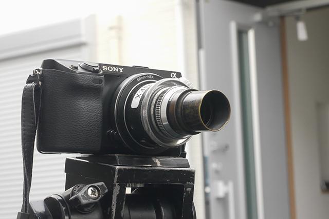 無名50mm F2.8[No.4045]、絞り羽根9枚、アイモマウント(35mmスタンダード用)
