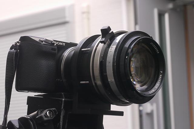 アンジェニュー50mm F0.95[No.1249349]、絞り羽根12枚、ミッチェルBNCマウントに改造(フルサイズ用)